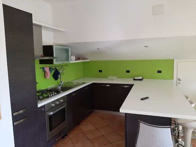 Appartamento con uso cucina