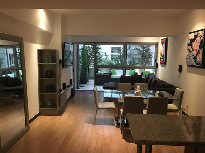 Beautiful apartment in Polanco area with amenities