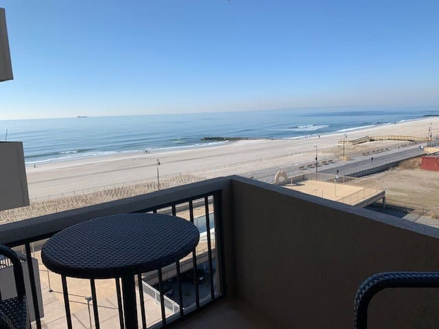 Life is Better at the Beach. Ocean front apt.