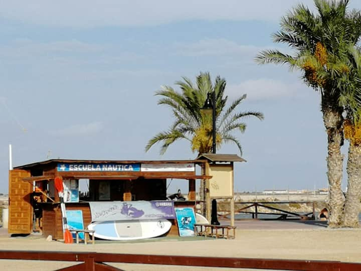 Apartamento en el Mar Menor y Mediterráneo.