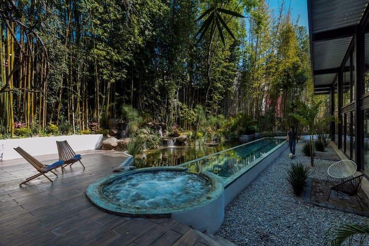 Gorgeous Loft & Roof Garden   Agua y Bamboo - Cuernavaca