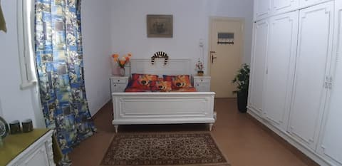 Bright Airy Central Location Room ❤️Walk to Nile❤️