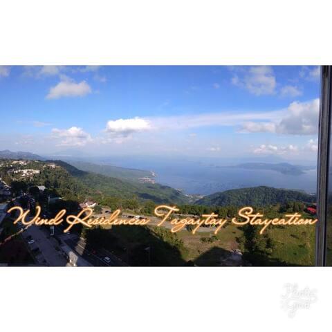 Wind Residences Tagaytay Staycation(Wifi/Netflix)