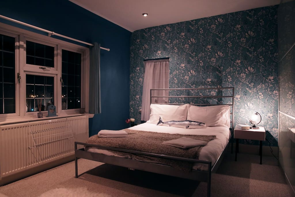 Blue Double Bedroom