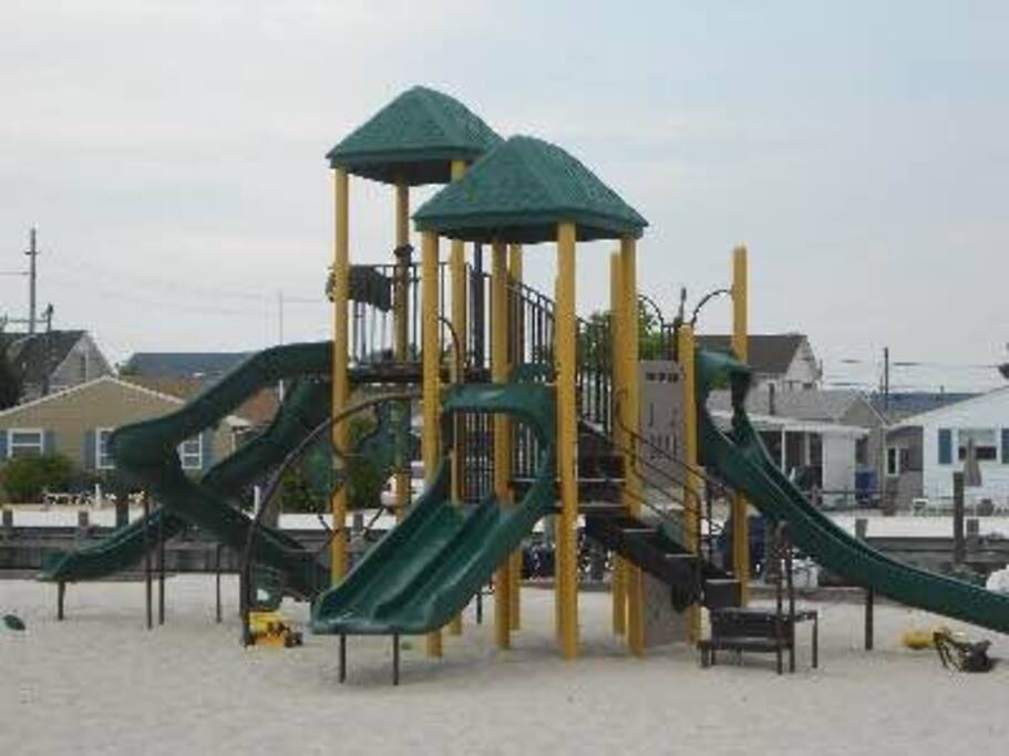 Play ground is perfect for kids