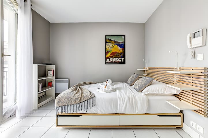 Very comfortable studio with balcony