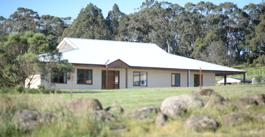 Contemporary Straw Bale House - Buninyong - House