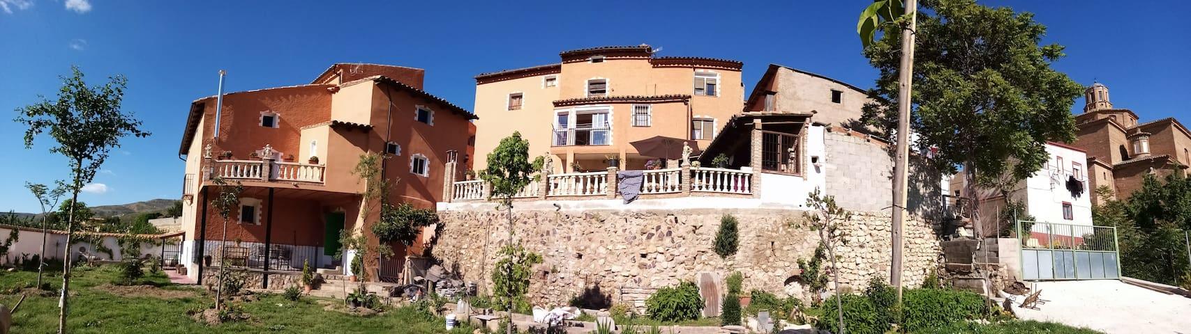 Casa-villa rural completa para hasta 9 personas