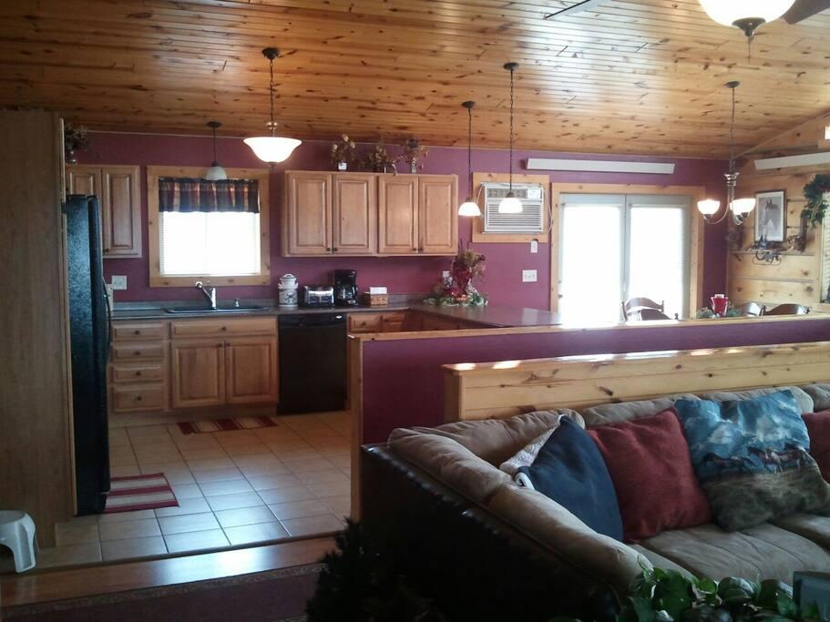 Kitchen/Living Room main floor