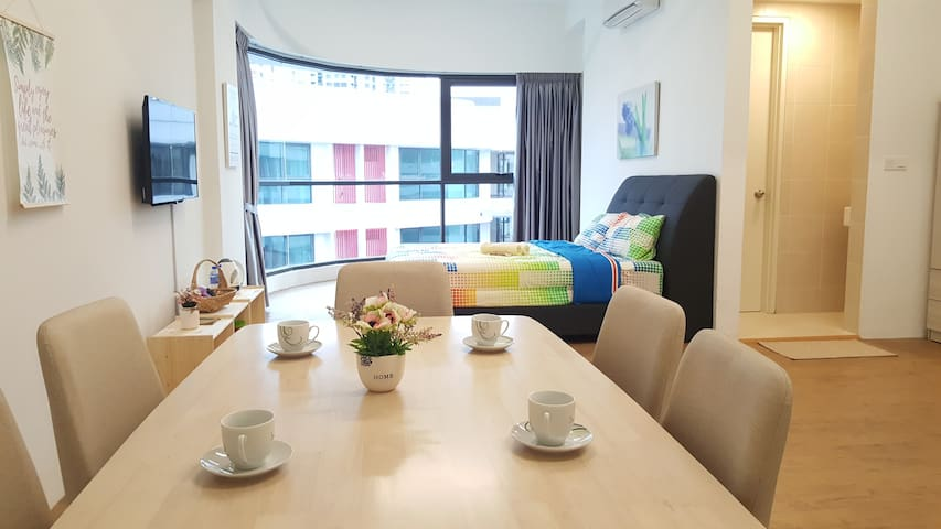 2-6PAX★Cosy Suite★5 mins to Sunway Pyramid Lagoon