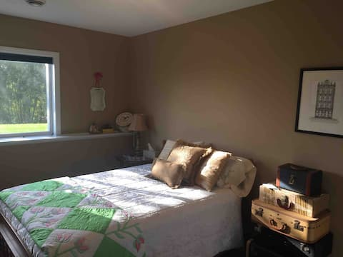 Traveler's Rest Suite - Queen bed.