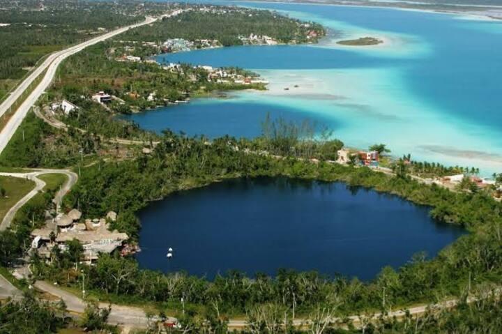 Cuarto Centro Cenote Azul y Los Rápidos incluido