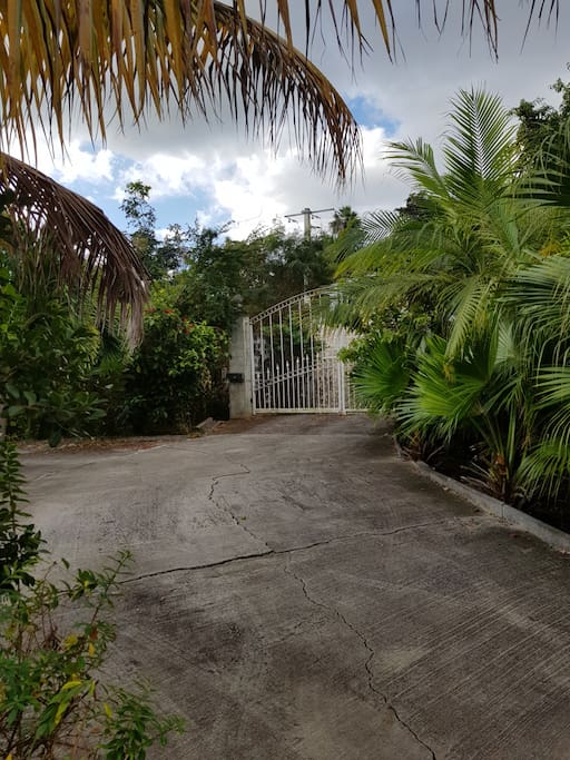 jardin tropical portail auto entree privative