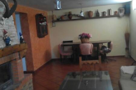 sotano de 50 m2 con chimenea para fiestas - Santorcaz