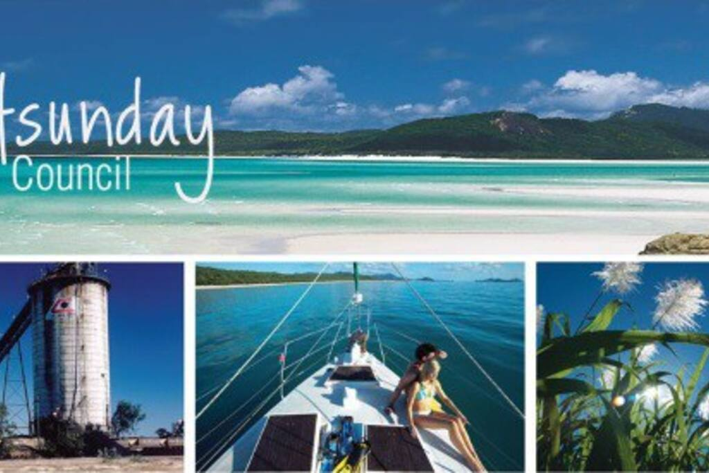 This is how pretty our Airlie Beach is and what you can do: sailing, visit Whithaven Beach