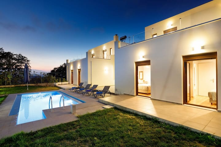 Modern villa,Fantastic views,Private pool,Near amenities,Near Rethymno 8