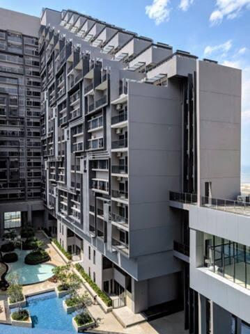 Imperio Cozy Studio B-23th Floor with Balcony