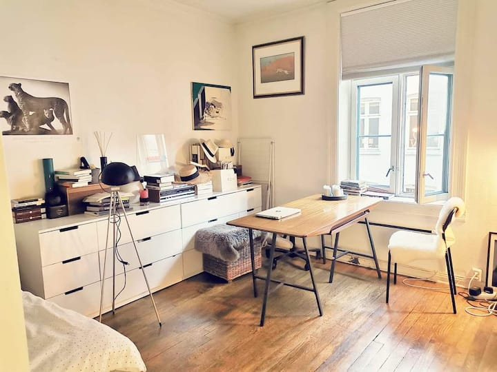 A private and charming in Oslo City center