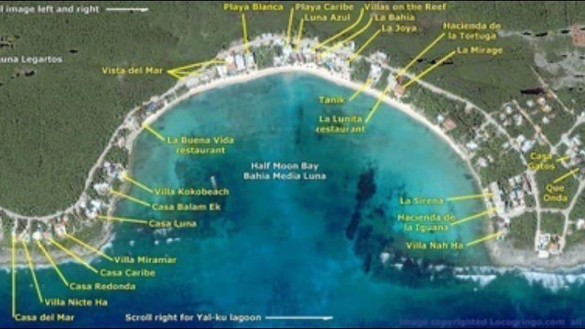 Beachfront Akumal, Playa Blanca #9 - Akumal  - Apartamento