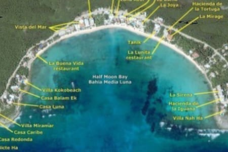 Beachfront Akumal, Playa Blanca #9 - Akumal  - Apartment