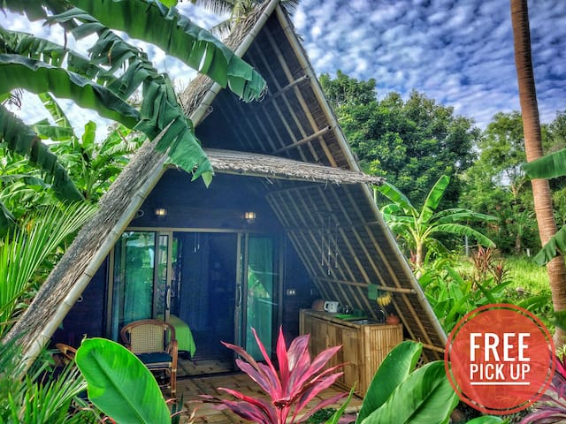 Seaview A-frame ECO Bungalow-1