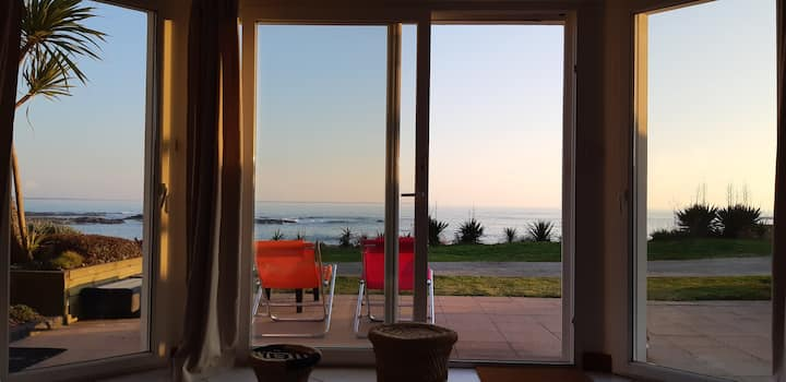 Maison sur la plage de Lérat