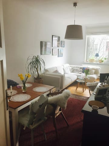 Cosy room in lovely apartment - Hannover - Apartament