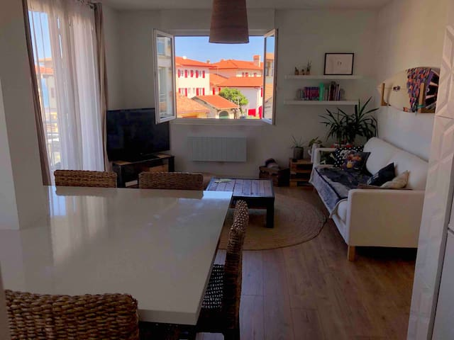 Appartement T2 vue océan-plage centrale Hossegor
