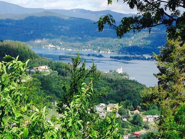 Herrlicher Ausblick im 3 Seental - Keutschach am See - Huoneisto