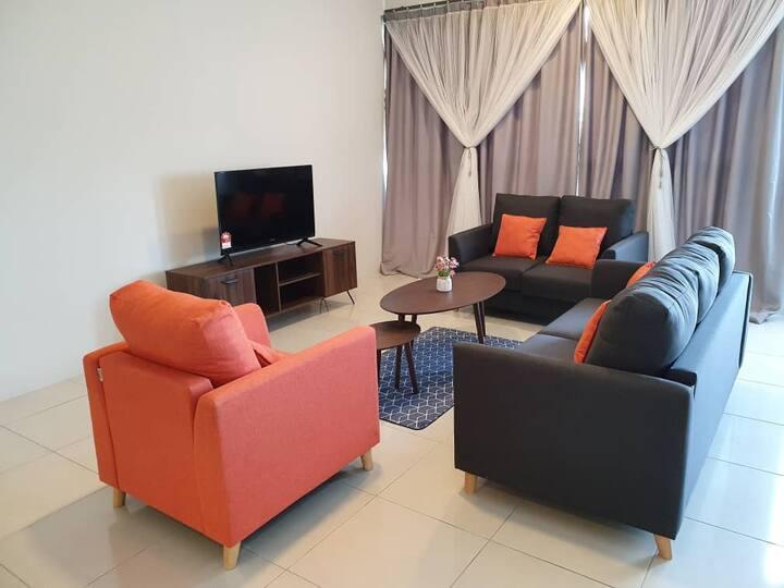 Kuching liberty grove apartment (3BR3BTH)
