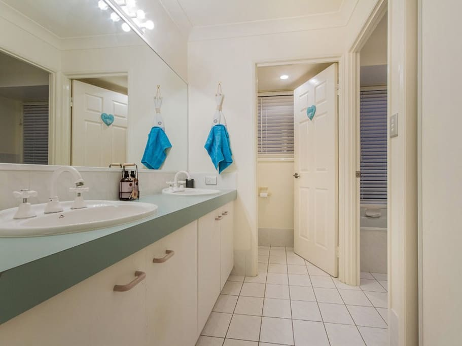 Private bathroom, shower & toilet