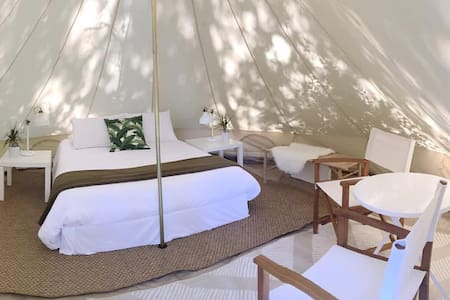 Luxury Camping on 30a - Grayton Beach State Park - Tenda