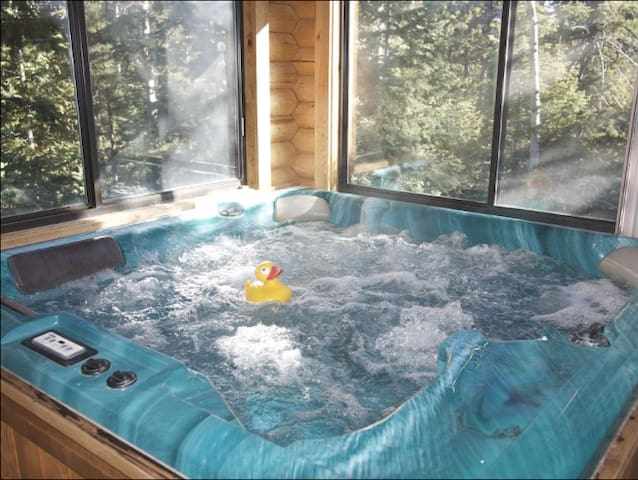 Luxurious Spa Cabin - Duck Creek Village - Cabana