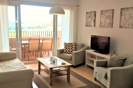 Fabulous 2 bed 2 bath front line golf apartment - Torre-Pacheco - Lakás