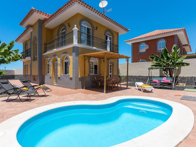 Amazing Costa Adeje's Villa! Pool & Big Garden
