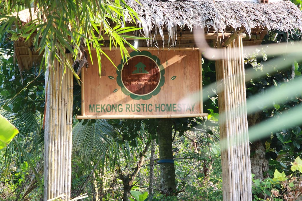 Mekong Rustic Entrance