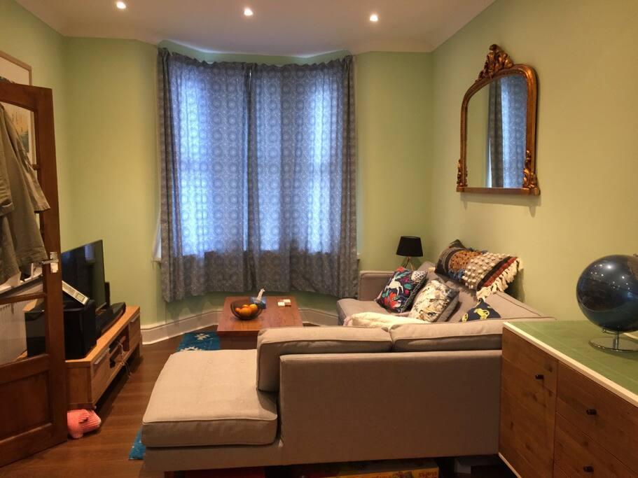 Living room sofa area 1