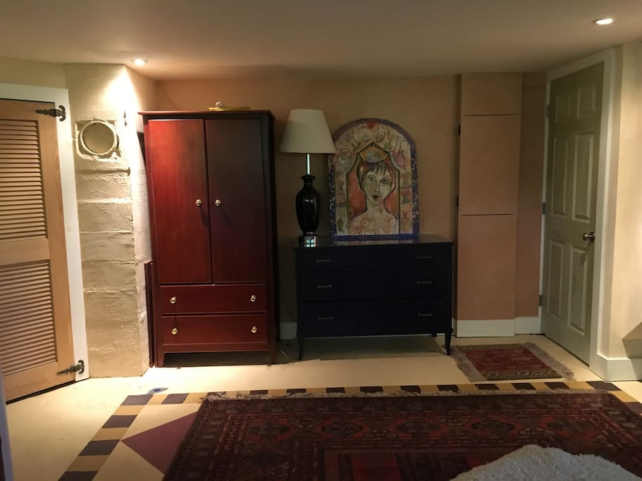 Armoire and dresser