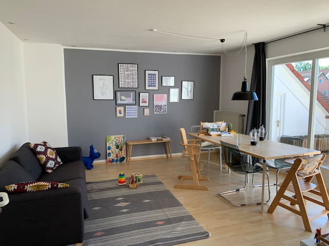 Gemütliche und  kinderfreundliche 2- Wohnung