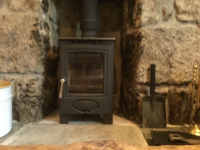 Wood burner for cosy nights