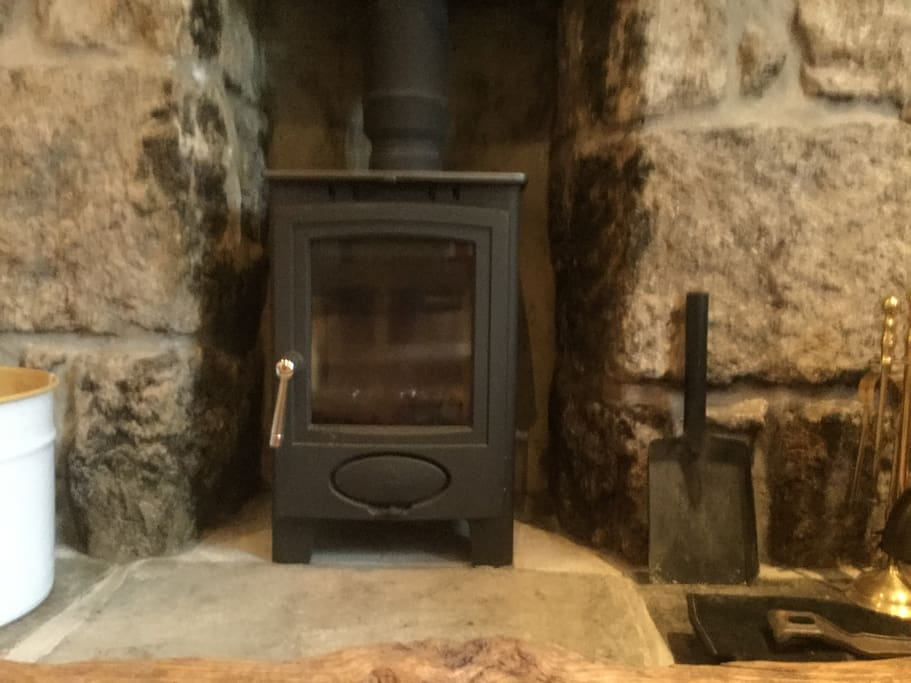 Wood burner for cosy nights