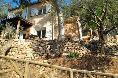 L'Oustalet, maison avec jardin en restanques - Cuers