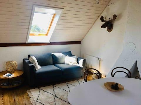 Petit appartement cosy et stylé à Yverdon