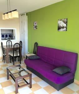 Apartamento con vista MAR Y MONTAÑA piscina y WIFI - Benidorm