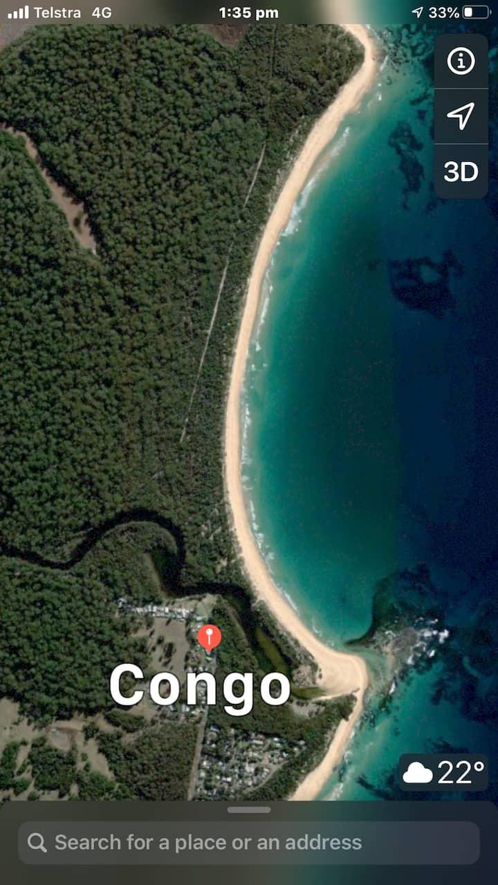 Spacious south coast beachside haven in Congo