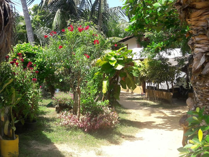 Natural cabanas in tangalle