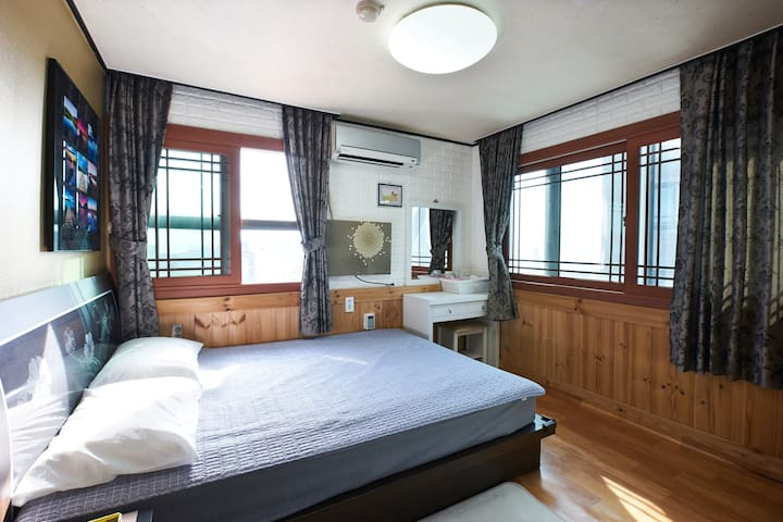 Sea view double room - Soldongsan-ro22beon-gil, Seogwipo-si