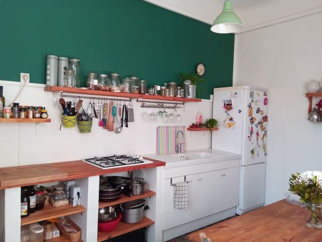 La cuisine partagée