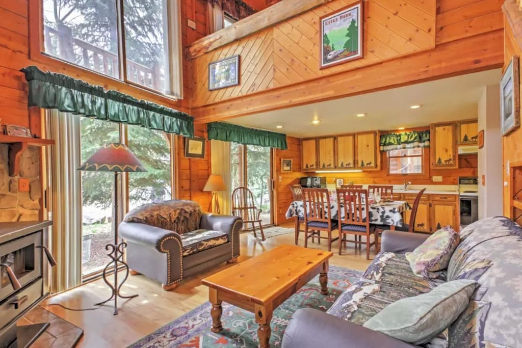 Rustic 3br grand lake cabin at lemmon lodge cabins for for Grand lake colorado cabin rentals