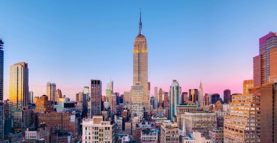 Full Floor 3Br/2Ba Aprt Near Empire State Building